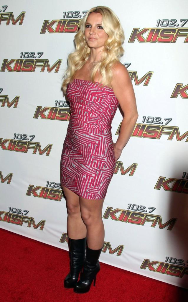 Boots noirs pour Britney
