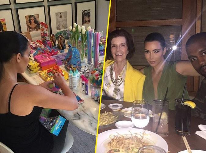 Photos : Kim Kardashian : Retrouvailles en famille pour un week-end de Pâques réussi !