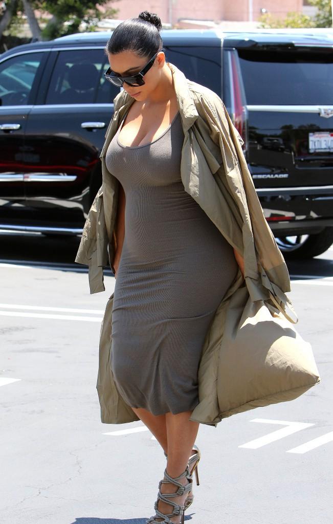 Kim Kardashian le 16 juillet 2015