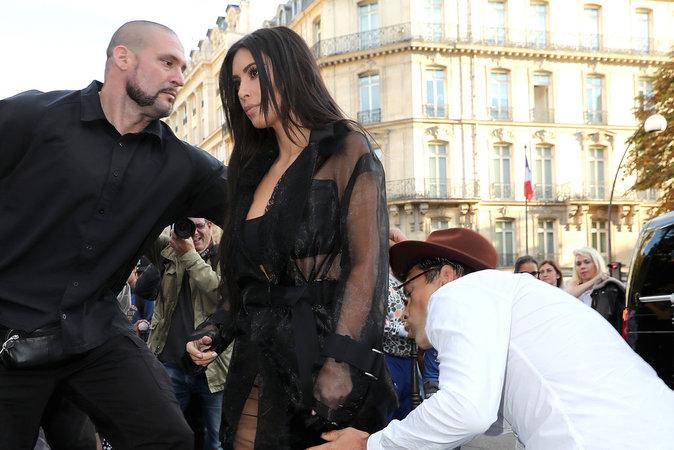 Kim Kardashian à deux doigts de l'humiliation