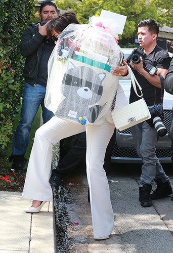 Kris Jenner à Los Angeles le 22 mars 2014