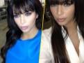 Photos : Kim Kardashian : adepte des lentilles de couleur !
