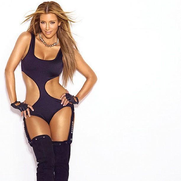 Kim en mode Beyoncé ?