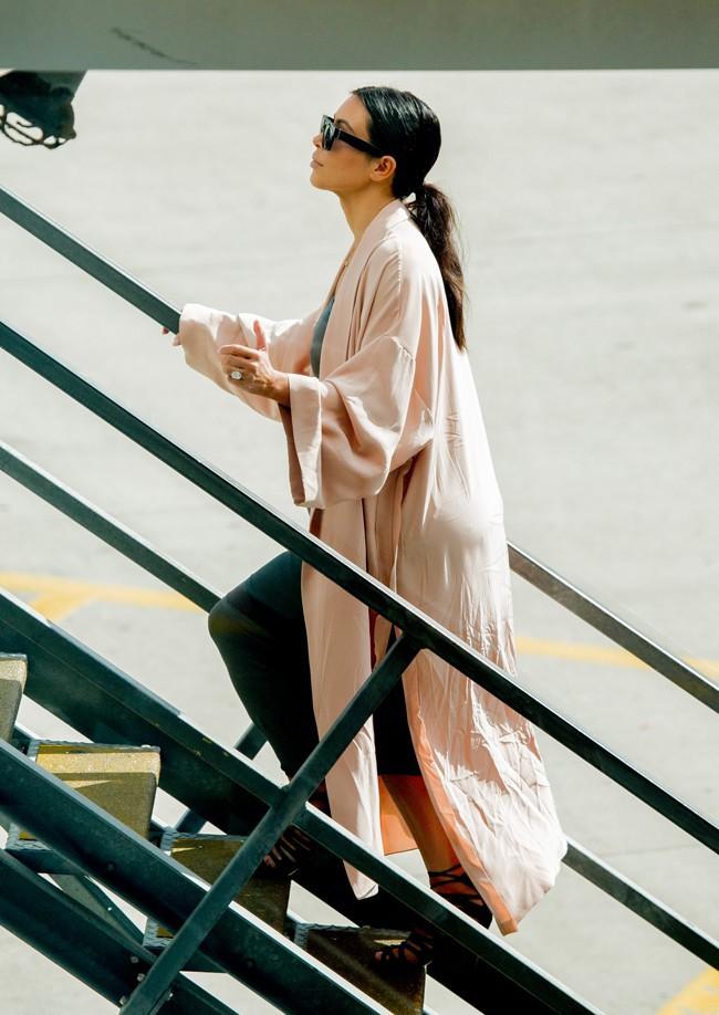 Kim Kardashian a quitté Sydney lundi 17 novembre 2014