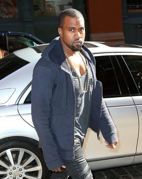 Kanye West à New York, le 22 octobre 2012.