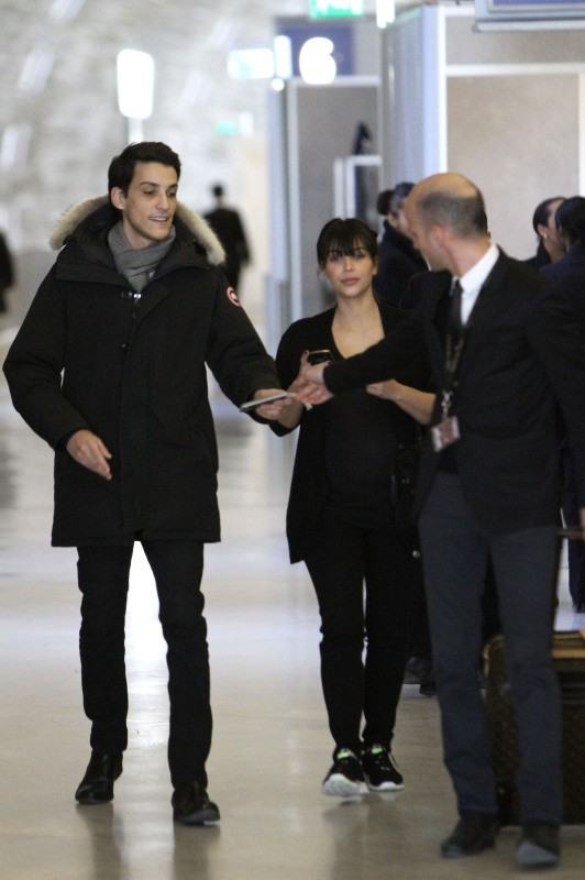 Kim Kardashian à Paris, le 2 avril 2013.