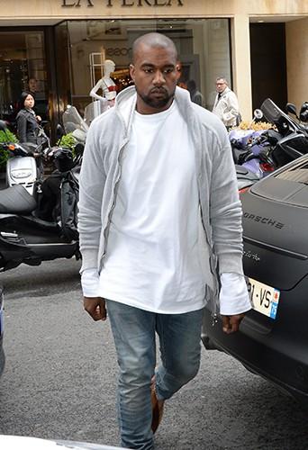 Kanye West à Paris le 22 mai 2014