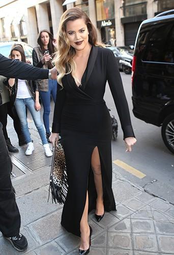 Khloé Kardashian à Paris le 22 mai 2014
