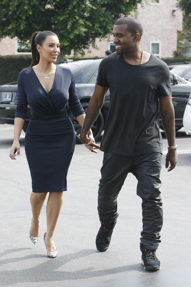 Kim et Kanye ne se quittent plus des yeux !