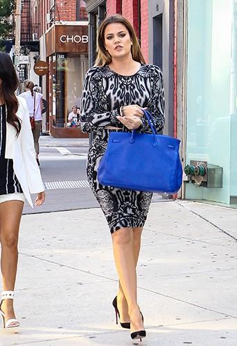 Khloé Kardashian à New York le 7 juillet 2014