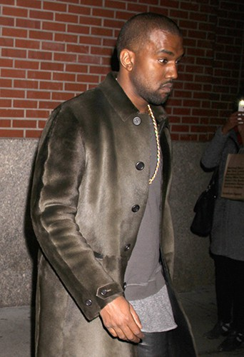 Kanye West à New-York le 24 novembre 2013