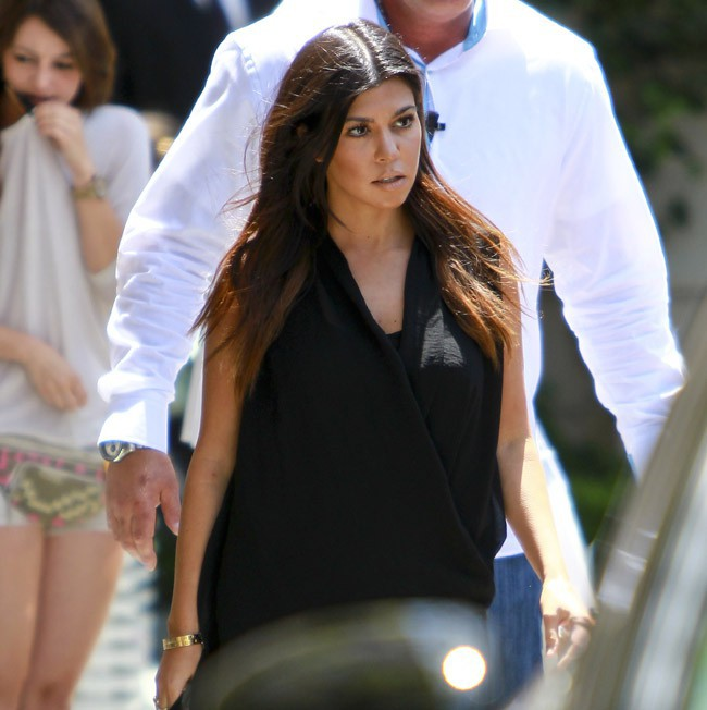 Kourtney Kardashian à Beverly Hills le 10 mai 2014