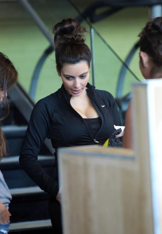 Kim Kardashian à Miami, le 5 novembre 2012.