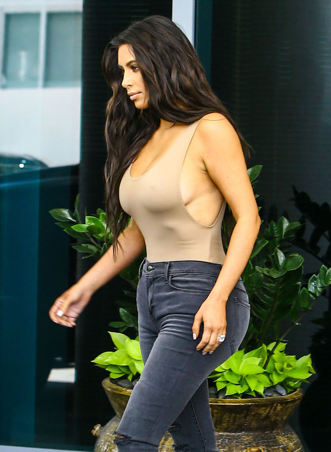 Kim Kardashian à Miami ce vendredi 16 septembre