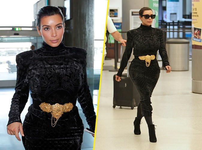 Kim Kardashian : de passage � Miami apr�s une petite escale � Paris !
