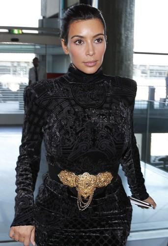 Kim Kardashian à Paris le 14 avril 2014