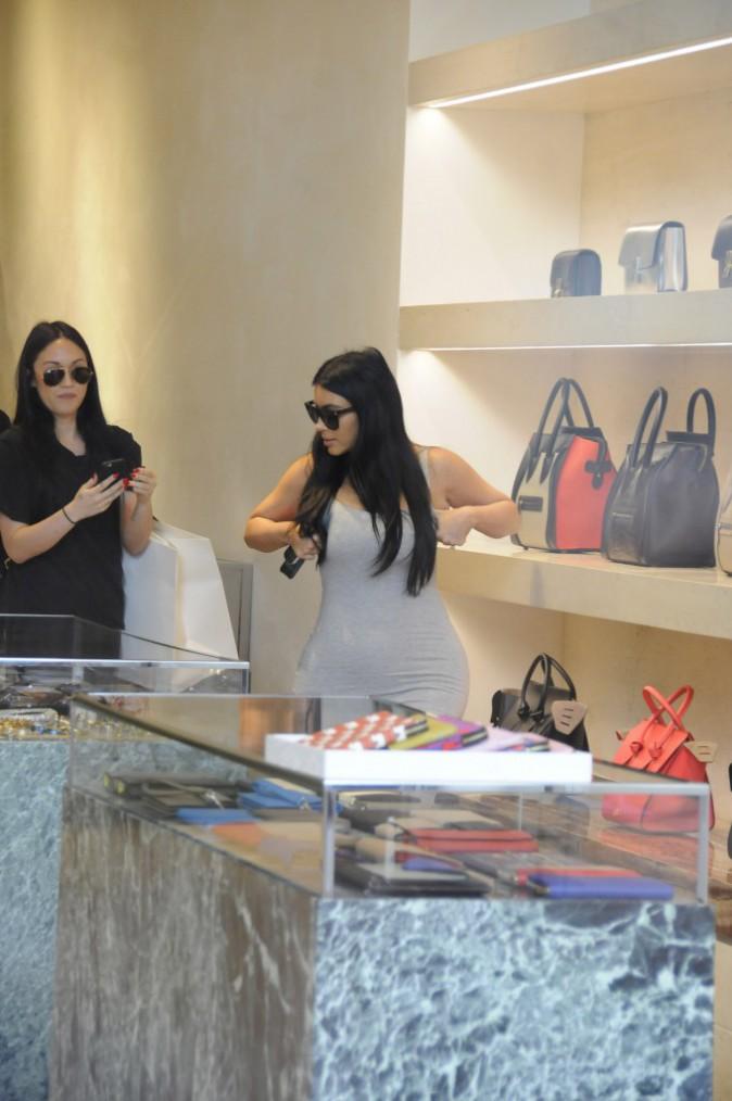 Kim Kardashian le 12 juin 2015