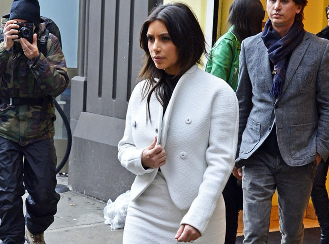 Kim Kardashian : elle abandonne ses soeurs pour passer la journée avec son BFF Jonathan à New-York !