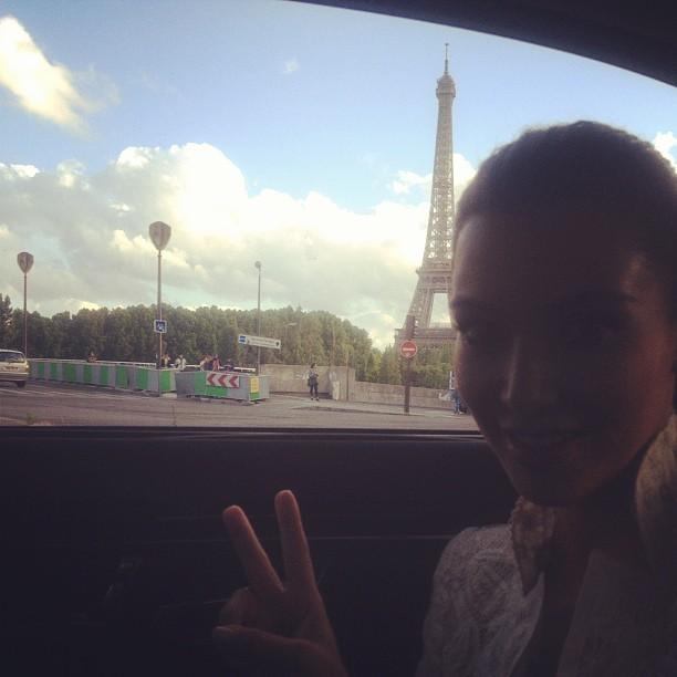 Kim Kardashian et sa maman Kris Jenner à Paris le 16 juin 2012