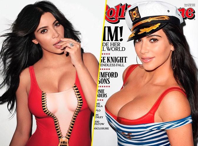 Kim Kardashian : elle en d�voile toujours plus pour Rolling Stone...