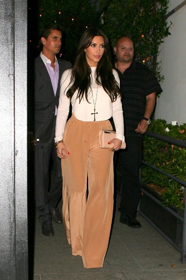 Kim Kardashian s'offre un resto avec Scott Disick !