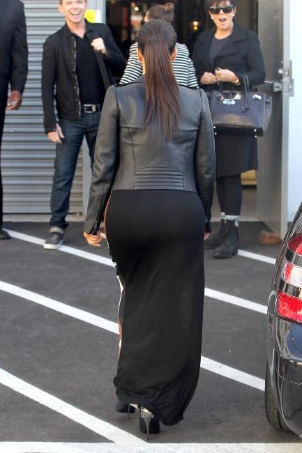 Kim Kardashian le 27 février 2013 à Los Angeles