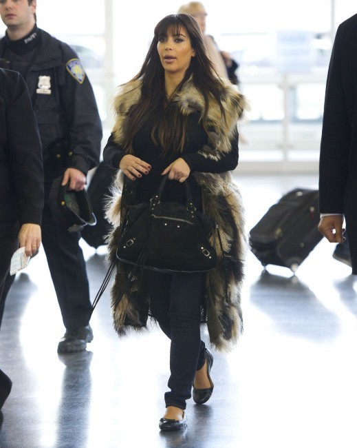 Kim Kardashian le 27 mars 2013 à New York
