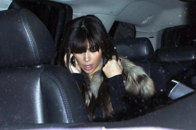 Kim Kardashian le 27 mars 2013, lors de son arrivée à Los Angeles