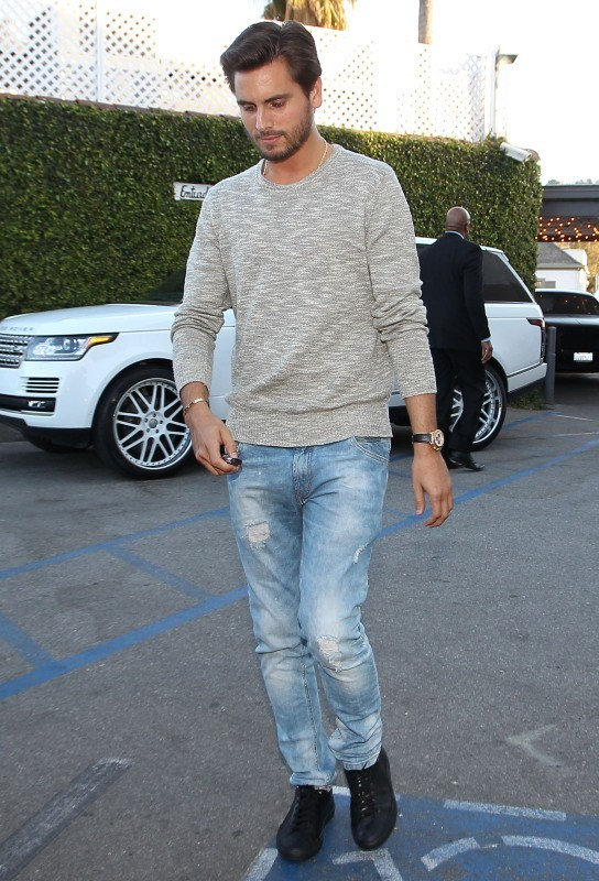 Scott Disick à Sherman Oaks, le 4 avril 2013.