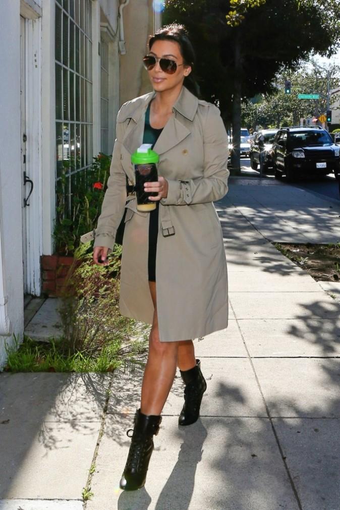 Kim Kardashian à Los Angeles le 21 décembre 2012