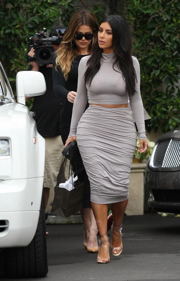 Kim Kardashian à Beverly Hills le 19 décembre 2014