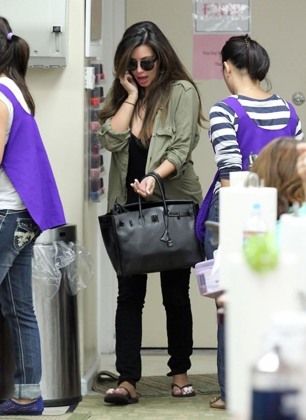 Kim Kardashian à Beverly Hills le 24 août 2012