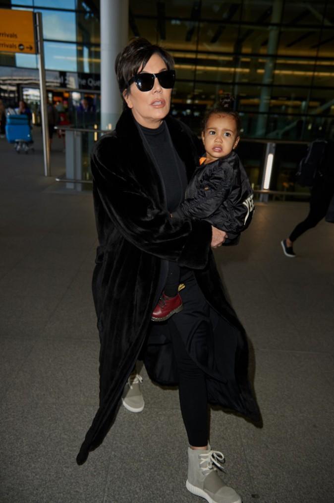 Photos : Kim Kardashian : elle se confie au magazine Adweek pendant que Kris et North embarquent pour Londres !