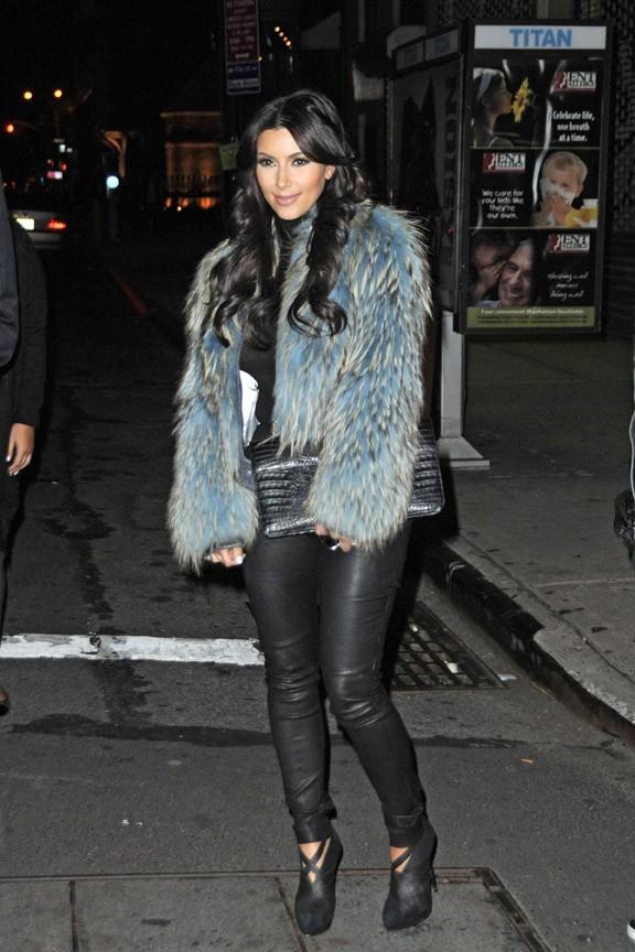 Kim Kardashian ne milite pas pour la Peta !