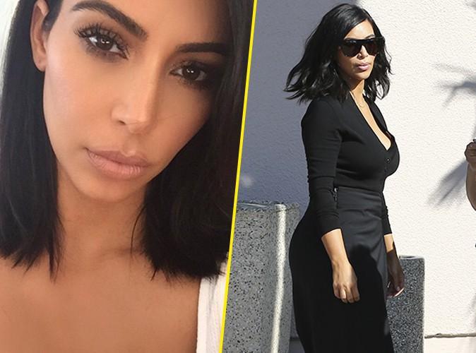 Photos : Kim Kardashian : elle vous présente sa nouvelle coupe de ...