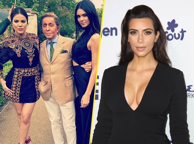 """Photos : Kim Kardashian : en attendant son mariage """"intime"""" de 3000 invités, sa famille commence les festivités chez Valentino !"""