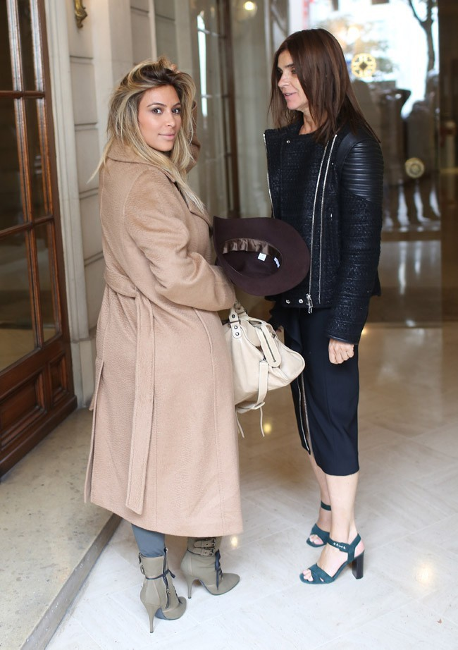 Kim Kardashian à Paris le 28 septembre 2013