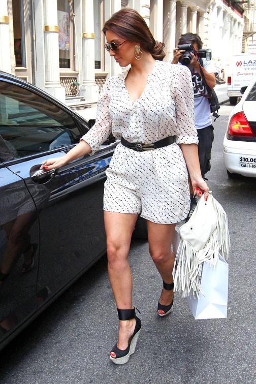 Kim Kardshian hier à New-York ...