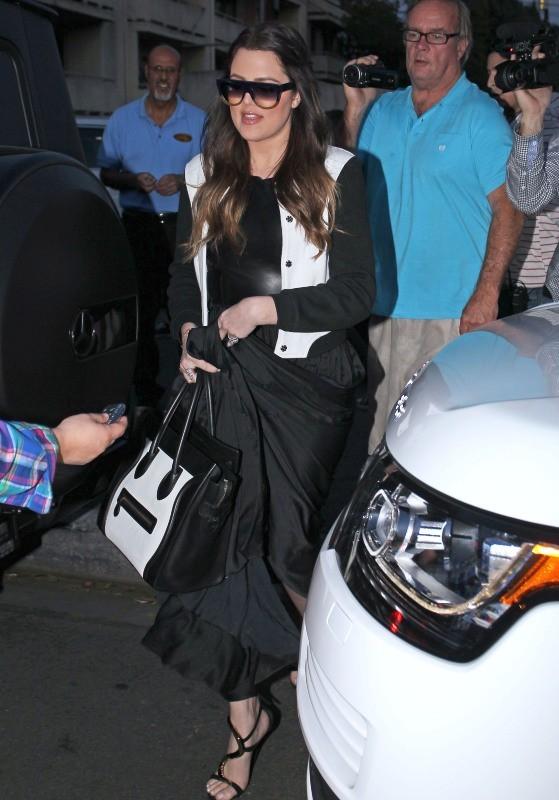 Khloe Kardashian à Sherman Oaks, le 27 février 2013.