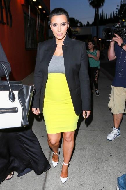 Kim Kardashian à Sherman Oaks, le 27 février 2013.