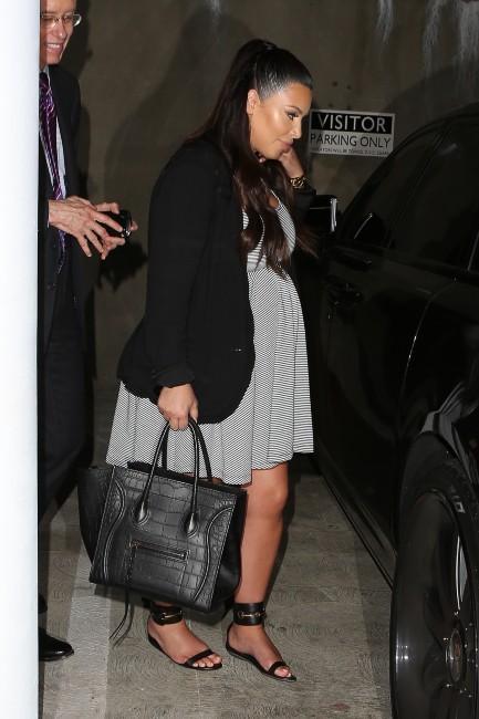 Kim Kardashian se rendant chez le médecin à Los Angeles, le 29 mai 2013.