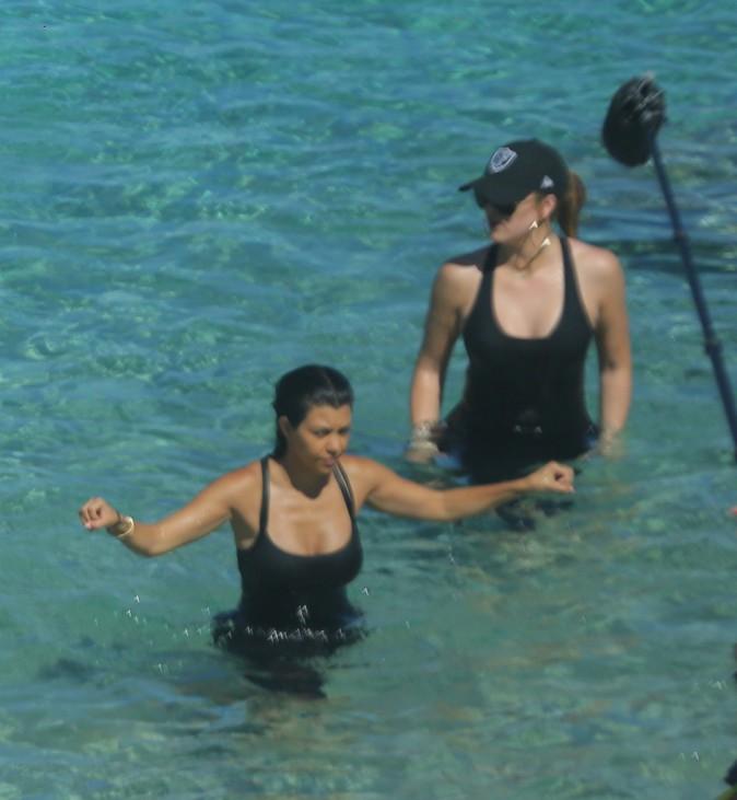 Kim Kardashian à Saint-Barthélémy