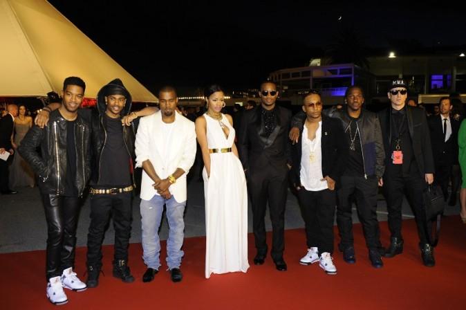 People lors de la première de Cruel Summer à Cannes, le 23 mai 2012.