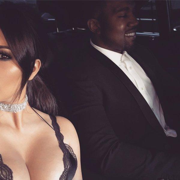 Kim Kardashian et Kanye West : � deux doigts de s'envoyer en l'air...