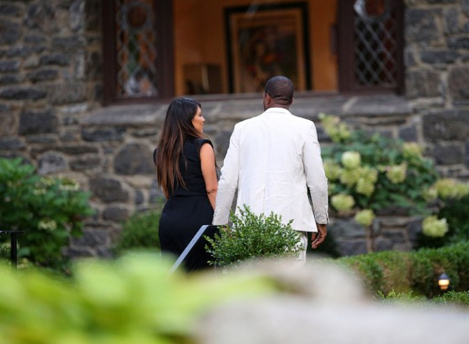 Kim Kardashian et Kanye West à New-York le 2 septembre 2012
