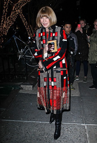 Anna Wintour à New York le 25 mars 2014