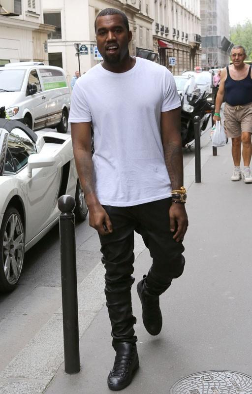 Kanye est en forme !
