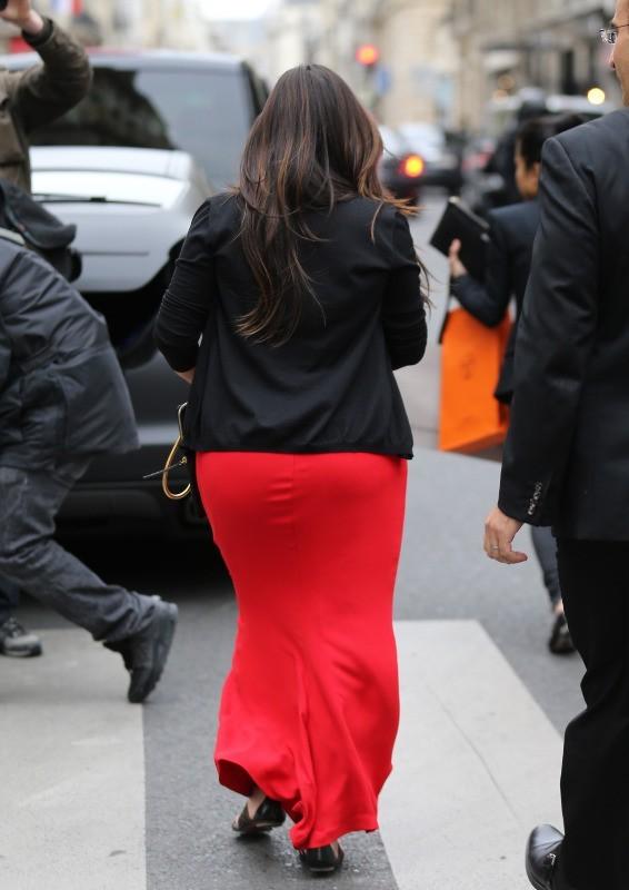 Kim Kardashian et Kanye West, Paris, 30 avril 2013