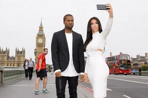 Photos : Kim Kardashian et Kanye West en cavale dans Londres... ou presque !