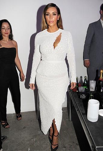 Kim Kardashian à Miami le 4 décembre 2013